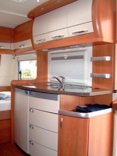 """Camper interior...just in case the whole """"dream house"""" falls through, I wanna have plan B in place! Peachy!!!"""