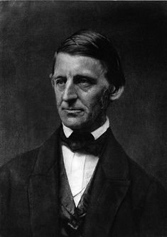 Ralph Waldo Emerson (1803-1882) American Writer Who Espoused Transcendentalism.