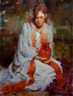 Kevin Beilfuss 1963   American Impressionist Figurative painter