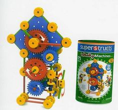 Superstructs Wacky Machines Construction Toy New