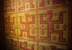 Eleonora Plutyńska, Janosik, double-warp textile, made by folk weavers from Janów (near Sokółka), 1956 (based on a design from 1936), collections of the Central Textiles Museum in Łódź, Photo: Michał Korta - photo 1