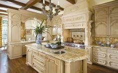 French-Tuscan Design Kitchen