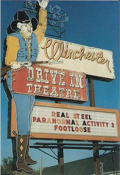 Winchester Drive In Theatre....Oklahoma City, Oklahoma