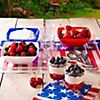 red white and blue parfaits