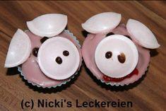 super süsse und quitsch rosa Schweine Muffins :)
