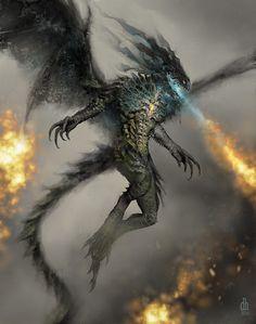 Chinese Zodiac - Year of the Dragon by Damon Hellandbrand | Creatures | 2D | CGSociety