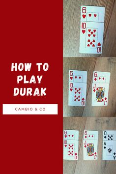 Durak is an intense Russian Attack Game perfect for 3-6 players.  It's slightly complicated to learn but you'll love it once you get it! Check out www.cambionco.com for the full rules. You Get It, Do You Like It, Playing Card Games, Trump Card, Out Of The Woods, Up For The Challenge, Fair Games, Your Cards, The Incredibles