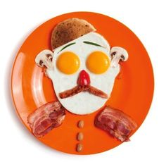 Take Your Breakfast to the Next Level with Funny Egg Portraits