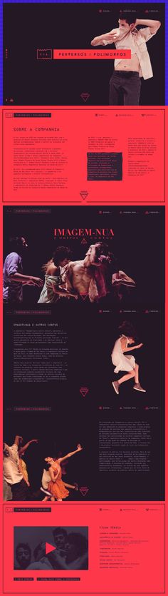 This website, and apparently the Spanish dance company it represents, CIA, oozes sex. Mobile Web Design, Web Ui Design, Web Design Company, Site Design, Website Layout, Web Layout, Layout Design, Interface Web, Ui Web