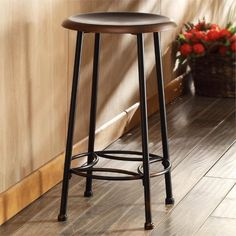 Country Decor, French Country Decor, Rustic Decor - What Is Your Style? Counter Height Bar Stools, 24 Bar Stools, Kitchen Stools, Swivel Bar Stools, Restaurant Bar Stools, High Top Tables, Cafe Seating, Backless Bar Stools, French Country Decorating