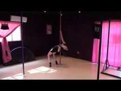 Mardi - Beginner Pole Dance Level Check 1: Out from Under