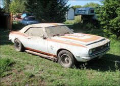 World's Best Muscle Cars 1968 Chevy Camaro, Camaro Ss, Old American Cars, Abandoned Cars, Abandoned Vehicles, Car Barn, Rusty Cars, Best Muscle Cars, Drag Cars