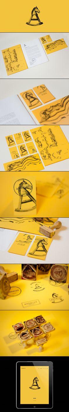 Andaluz Branding & Identity by Plau + Poema
