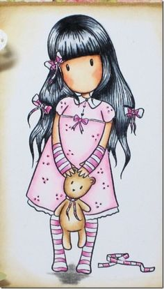ilustração boneca gorjus