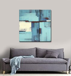 ABSTRACT Painting  ORIGINAL Painting Acrylic by ARTbyLESTstudio, $275.00