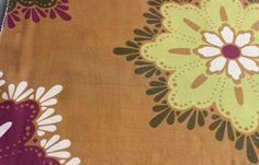 Tangerine Eleta Beauty Fabric By The Yard Curtain by FabricMart