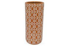 Quick Hits | One Kings Lane $49 umbrella stand - ceramic - ala 1965