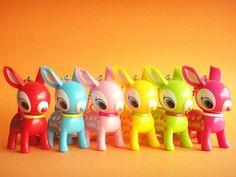 Kawaii Cute Puchi/Petit Babie Baby Deer Key Chain Charms by Kawaii Japan, via Flickr