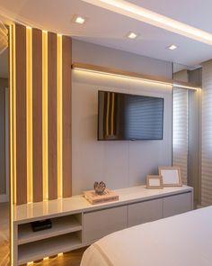 Living Room Partition Design, Living Room Tv Unit Designs, Room Partition Designs, Bedroom False Ceiling Design, Modern Tv Room, Modern Luxury Bedroom, Luxurious Bedrooms, Home Room Design, Home Design Decor