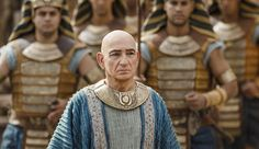 """It isn't alwayseasy being king, as Egypt's boy monarch Tutankhamun proves in an exclusive new trailer from Tut,an upcoming miniseries from Spike TV.  Oscar winner Ben Kingsley plays mentor to King Tut (Avan Jogia), who has some trouble getting Egypt's support. """"Who can I trust?"""" Tut asks Kingsley's character, Ay, at one point. """"No one,"""" Ay coldly replies. What follows is plenty of violence, some sex, and lots of fire. ThinkGame of Thrones,but with more pyramids and fewer dragons."""