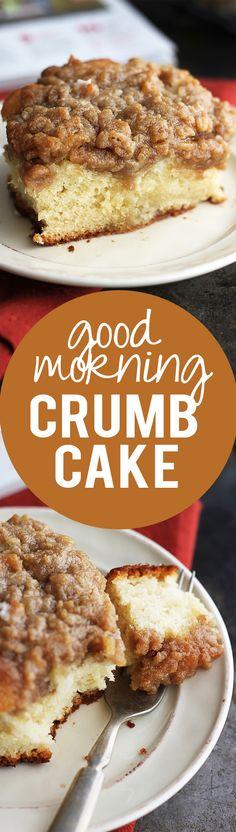 Good Morning Crumb Cake | Creme de la Crumb