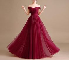 Sparkly Prom Dress, Wine Red Long Tulle Off Shoulder Gowns, Burgundy Party Gowns, Formal Dresses, Prom Dresses Ball Gown Prom Burgundy Bridesmaid Dresses Long, Navy Blue Prom Dresses, Straps Prom Dresses, Tulle Prom Dress, Sequin Dress, Pageant Dresses For Teens, Homecoming Dresses, A Line Evening Dress, Evening Dresses