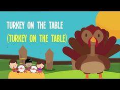 Thanksgiving Dinner   Song Lyrics Video for Kids   Thanksgiving Songs   The Kiboomers