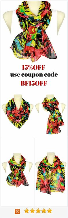 Fantastic Black Friday Sale has already started at Locotrends Scarves Shop on Etsy! To get 15%OFF on all items use coupon code BF15OFF at the checkout.Wide selection of unique women fashion scarves available. Among Etsy Gifts you can find plenty unique Christmas gift ideas for her such as gifts for mom, wife, sister, daughter, coworker, best friend, girlfriend, aunt, teacher, grandma, hostess etc. This huge scarves sale will end on Cyber Monday.