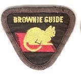 Vintage Brownie Guide badge - Animal Lover