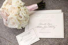 Wedding stationary #blisschicago #weddings #bouquet #stationary