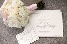 Wedding stationary #blisschicago #weddings #bouquet #stationary