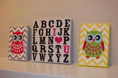 """Pinkie for Pink: DIY Canvas Pictures....cute for our guest room """"Ramsey's room"""""""