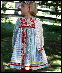 olabelhe  Annikka's Dress - Sizes 3-8