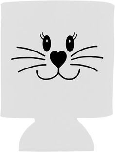 Bunny Face-Easter Koozie