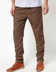 Minimum Slim Fit Tweed Trouser