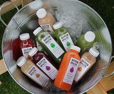cold pressed juice stall - Google Search