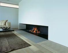modern architecture - fireplace - metalfire - universal - wood-burning open fireplace