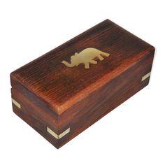 Dakshcraft Handmade Wooden Jewelry Box for Bracelets Elephant Charm Gift for Her,special gifts for rakhi