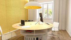 Návrh pracovne - interiér Palisády, Bratislava - Interiérový dizajn / Workroom interior by Archilab