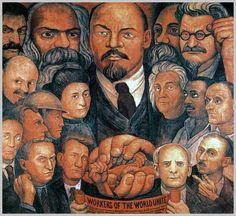 Obra del pintor mexicano Diego Rivera