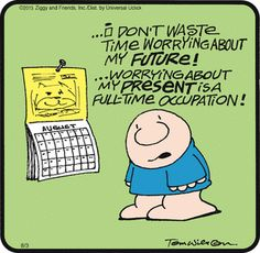 As in this #Ziggy comic, managing stress is an important step in job searching - http://www.ed2go.com/cbc123/online-courses/12-steps-to-successful-job-search