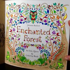 Johanna Basford | Picture by Erin | Colouring Gallery