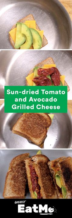 Avocado toast + melted cheese = this sandwich. #a…