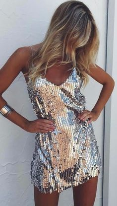 Shelli Dress - Hoco Shirts - ideas of Hoco Shirts - Sequined V-Neck Dress dancing everyday outfits shirts tops pants dj club techno skirts tight dresses cocktail evening nightlife nightclub Hoco Dresses, Tight Dresses, Homecoming Dresses, Sexy Dresses, Beautiful Dresses, Evening Dresses, Clubbing Dresses, Vegas Dresses, Prom Gowns