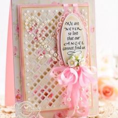 Friendship Card Making Ideas by Becca Feeken using Quietfire We Are Never So Lost and Spellbinders Basic Lattice at www.amazingpapergrace.com