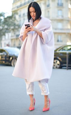 Tiffany Hsu from Street Style at Paris Fashion Week Spring 2016