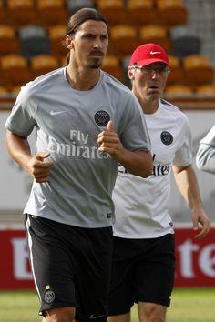Zlatan Ibrahimovic - PSG - Training
