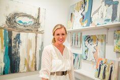 Deann Hebert in the Gallery