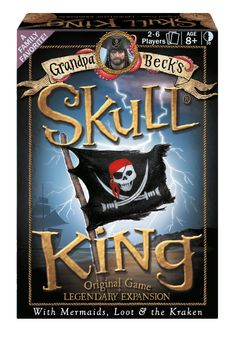 Grandpa Beck's Skull King: The Original Game + Legendary Expansion Board Game Online, Board Games, Play Number, Connect Games, Family Card Games, Minute Game, Kings Game, Game Prices, Games To Buy
