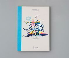 I Love Sweden - 20 postcards